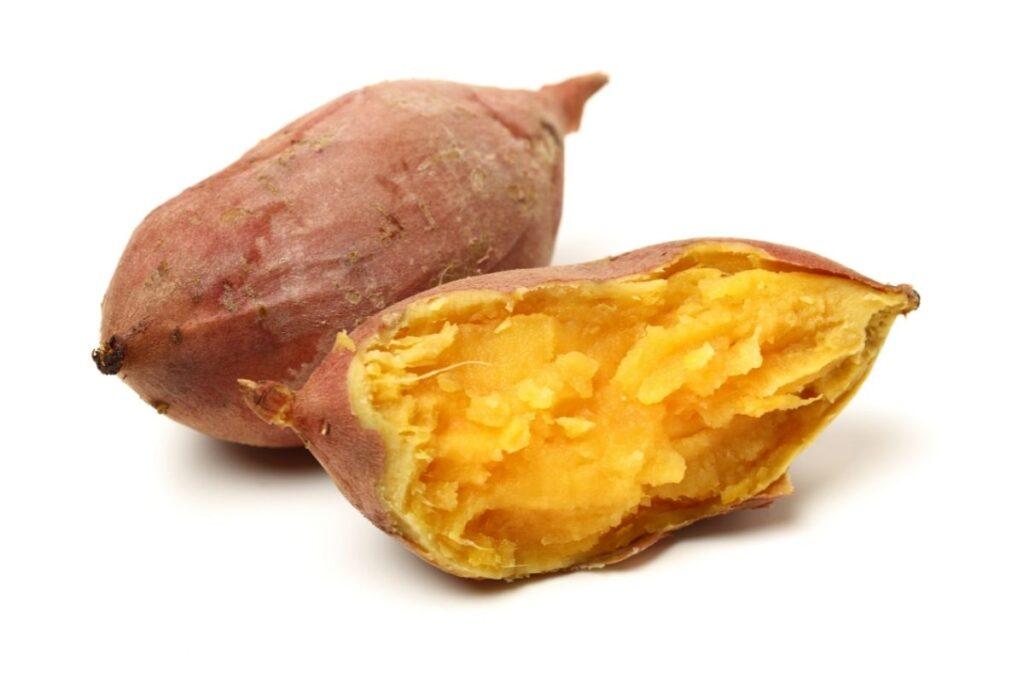 Finger food for babies sweet potato