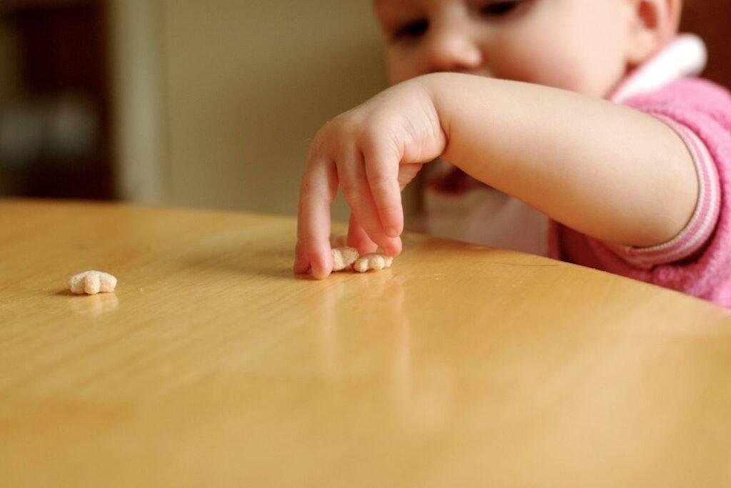 Finger foods for babies pincer grip