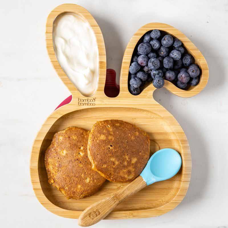 Sweet potato pancake finger foods
