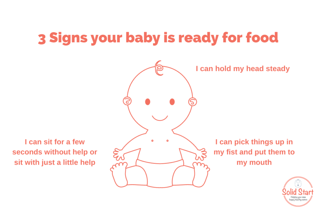 3 signs baby is ready for solids