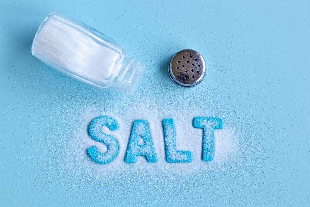 Salt for babies-how much