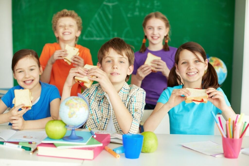 What to make for kids school lunch